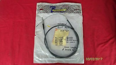 58-67 Triumph Barnett Universal Front Brake Cable  Made In Usa