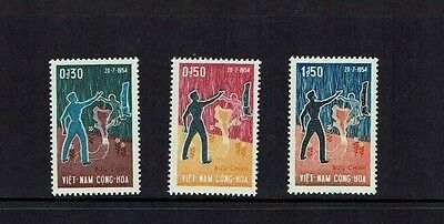Vietnam (South) 1964 10th Anniversary of Partition of Vietnam, MNH set