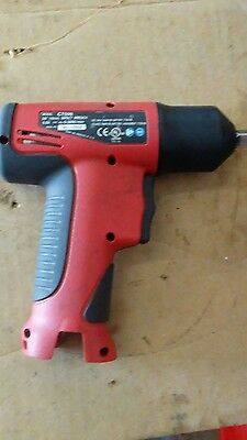 Snap-On (Cordless Impact), 2 Batteries, And Charger Grate Impact 3/8 9.6 Volts.