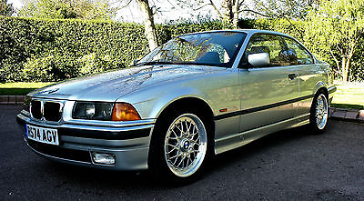 1997 Bmw 328I Coupe Auto Silver, Only 56000 Miles, 3 Owner, 12 Months Mot