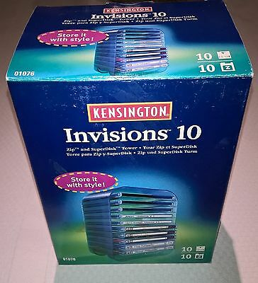 Kensington Invisions 10 Zip and Super Disk Storage Tower