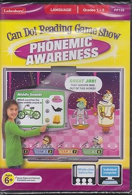 Can Do! Interactive Phonemic Awareness Game Software Lakeshore for PC and Mac