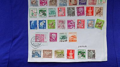 STAMPS   Japan 34 stamps.. China 51 and  Vietnam 6