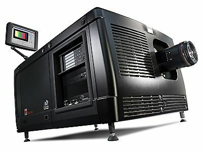 BARCO DP4K-32B DIGITAL CINEMA Projector w/ Doremi ShowVault Server, & lens