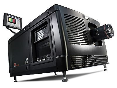 BARCO DP4K-32B DIGITAL Projector DCI Compliant with Lamp and Pedestal!