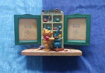Walt Disney Winnie The Pooh Double Photo Picture Frame. Kitchen Stove. VGC.