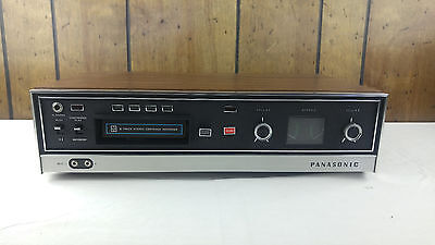 Panasonic 8 Track Stereo Cartridge Recorder Vintage Japan Model Rs-803Us -Works!