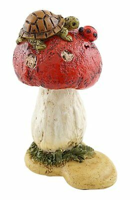 Mini Turtle on Mushroom - Top Collection Enchanted Story Fairy Garden