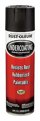 Rust-Oleum Rubberized Undercoating Automotive 15 Oz. Blk Can Pack of 6