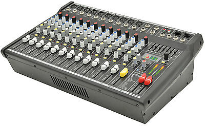 Citronic Csp-714 Powered Live Mixer Amplifier 700W 14 Input Pa Band 170.844