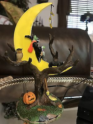 Lemax Spooky Town Witch Tree Lights Up