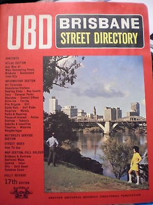 Rare Find Collectable Ubd Street Directory Brisbane 17Th Edition