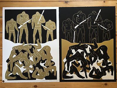 Cleon Peterson Genocide 2016 set matching #'s