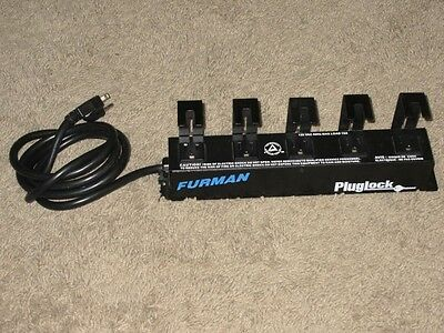 FURMAN PLUGLOCK AC POWER SURGE PROTECTOR STRIP a
