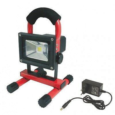 Projecteur LED rechargeable 10W
