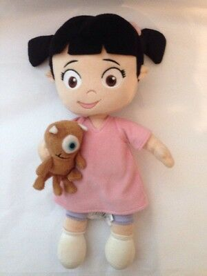 "Monsters Inc Boo Plush Doll 13"" Height Genuine Original"