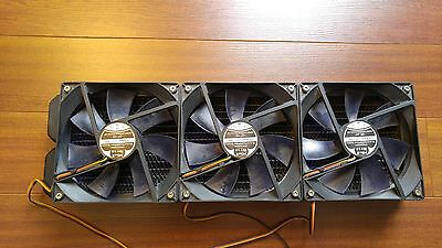 360mm Copper Radiator with 3 X 120mm NB-BlackSilentFan