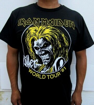 New! Iron Maiden Punk Rock T Shirt Men's Sizes