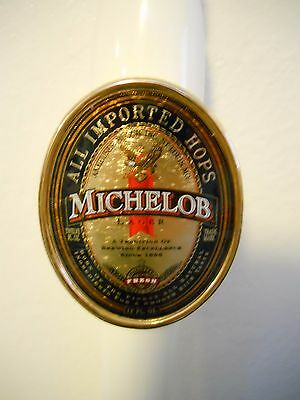 """RARE ~ 13"""" MICHELOB Lager  """"All Imported Hops""""  Beer Tap Handle Gear Shift Knob"""