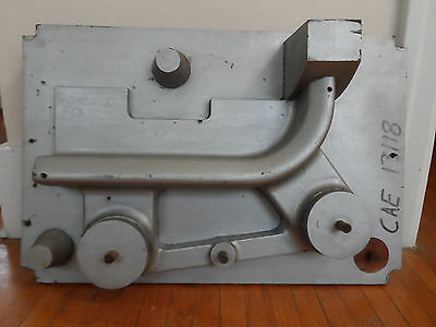 Vintage Steampunk Sand Cast Mold Mould Industrial Art Wall Hanger