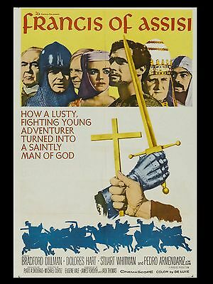"""Francis of assisi 16"""" x 12"""" Reproduction Movie Poster photo"""