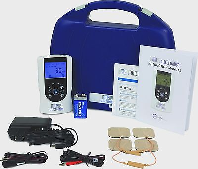 Tens Machine -InTENSity Select Combo 4-in-1 TENS/ EMS/ IF/ Micro Combo