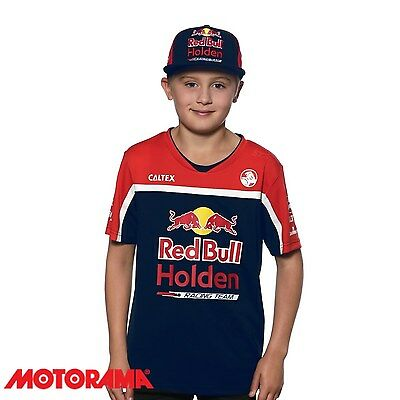 Official Red Bull Holden Racing Team Merchandise Team Flat Cap Youth RBHRT17.007