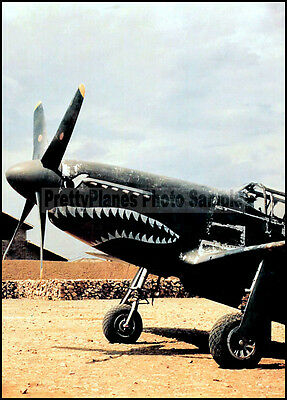 USAAF Tex Hill P-51B Mustang 23rd Fighter Group China 1940's 5x7 Aircraft Photos