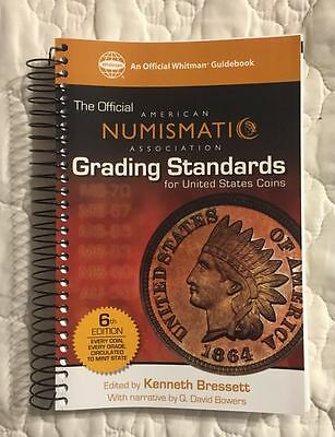 Ana Grading Standards For United States Coins - Every Coin Every Grade - New
