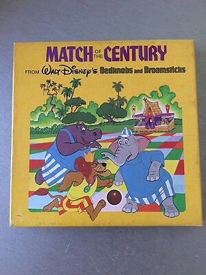 Walt Disney Match of the Century Super 8 Film Bedknobs and Broomsticks