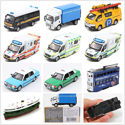 Tiny Hong Kong Diecast Car Model Tram Ferry Taxi Sprinter Ambulance 41-60