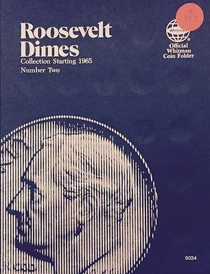Roosevelt Dimes 1965-2004 Set Coin Folder Whitman Album 9034