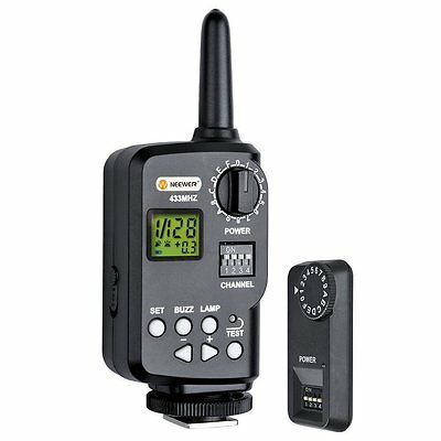 Neewer 433MHz Wireless 16-Channel Flash Remote Trigger with Receiver