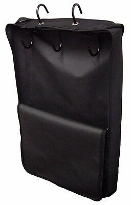 Large Horse/Pony/Equestrian Heavy Duty Bridle Halter Carry Bag In Black ****NEW