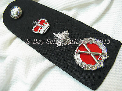 Obsolete Genuine British Colonial Royal Hong Kong Police Commissioner Rank