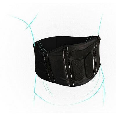 OneX Strike Stretch Expanding Fit Motorcycle Lower Kidney Back Support Belt