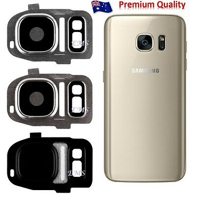 Camera Frame Glass Lens Cover Replacement For Samsung Galaxy S7 | S7 Edge
