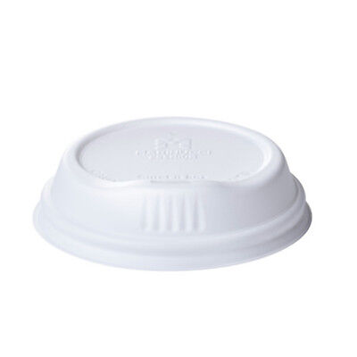 1000x Coffee Lid Sipper Lip White For 12&16oz Coffee Cup Disposable Takeaway NEW