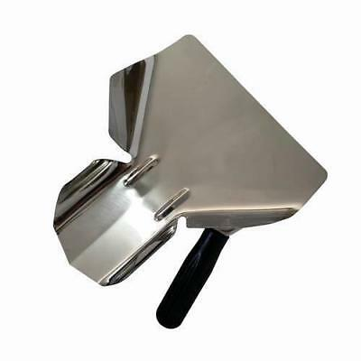 French Fry / Chip Bagging Scoop / Shovel, Right Hand, Stainless Steel, Cafe NEW
