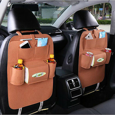 Storage bag accessories in the back car chair for children Honana HN-X2,7 colors
