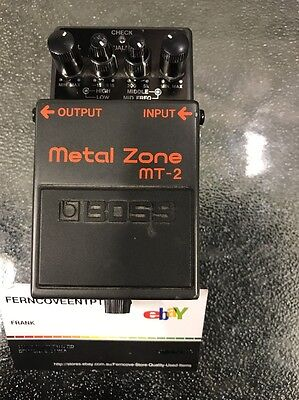 BOSS METAL ZONE MT-2 Electric Guitar Pedal