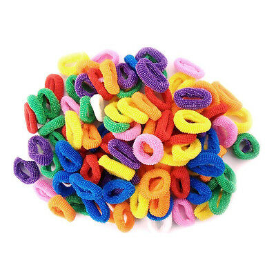 50 pcs Hair Bobbles for Girls Bands Mini Baby Suppositories Elastic Stretch C0O0