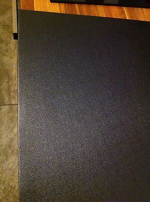 4 Sheets Of 2mm Black Pinseal Plastic Sheet ABS 375x540mm panels