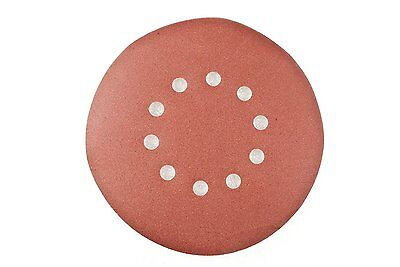 ALEKO 9-inch 10 Pieces 10 Holes 100 Grit Sanding Discs Sander Paper for Drywall