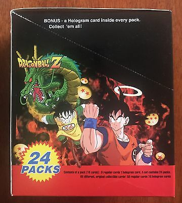 Dragonball Z Series 1 Box Containing 24 Trading Card (Artbox) Packs