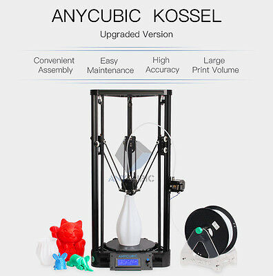 Anycubic Kossel 3D Printer DIY KIT Pulley Version Delta Large Printed Size