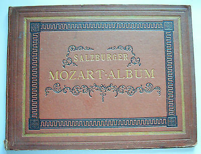 1871 SALZBURGER MOZART ALBUM Franz Xav Jelinek Mozarteum Archives photo plates