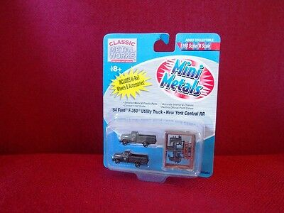 *NEW* N scale Mini Metals Ford F-350 New York Central RR Utility Truck pack of 2