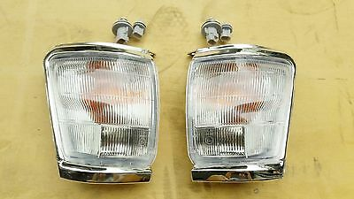 CHROME CORNER LIGHT INDICATOR for TOYOTA HILUX SR5 2WD 4WD 10/97-10/01 PAIR