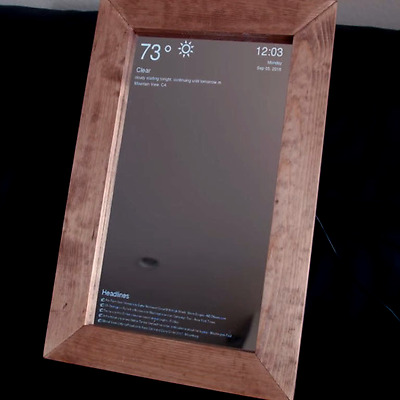 Miroir Intelligent / Miroir Connecte / Smart Mirror / Miroir Magique